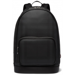 Burberry Leather & Canvas Backpack