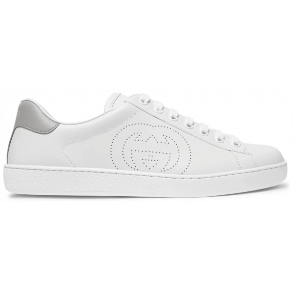 Gucci Ace Perforated Leather Sneakers