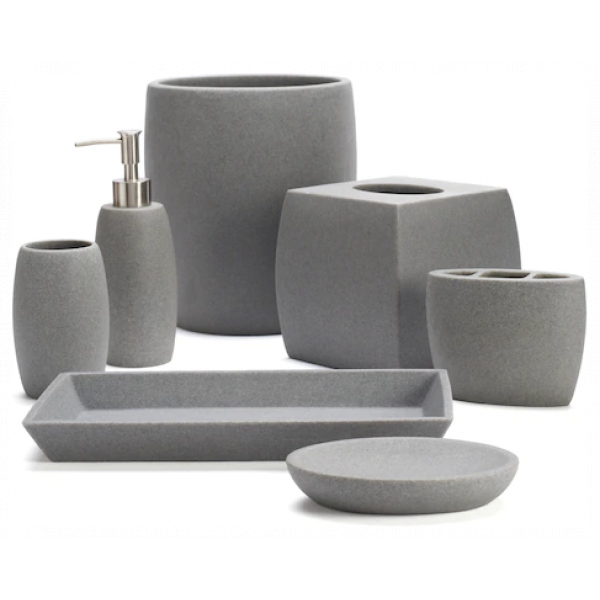 Resin Bathroom Accessories Collection