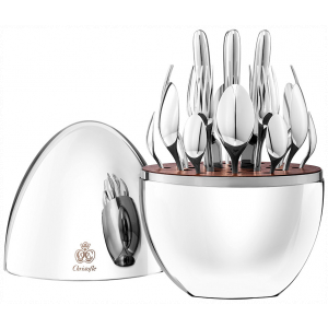 Christofle Mood Silver Plated 24 Pieces