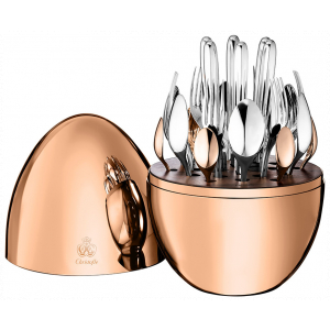 Christofle Mood Rose Gold 24 Pieces