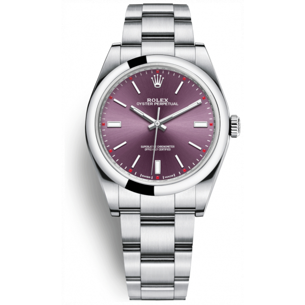 Rolex Oyster Perpetual 39 Red Grape