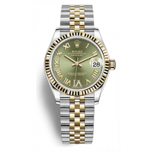 Rolex Datejust 31 Oystersteel & Yellow Gold