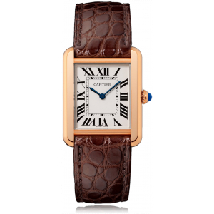 Cartier Tank Solo Steel & Red Gold